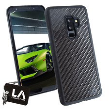 Samsung Galaxy S9+ Genuine Carbon Fibre Slim Phone Case - By LA Carbon Fibre