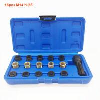 Professionale Riparazione Filettatura Scintilla Inserto Candela di Kit M14*1.25