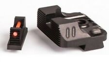 ZEV Technologies Sight Set .215 Fiber Optic Front & Combat v3 Black Rear Sights