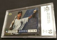 Derek Jeter 1994 Upper Deck Top Prospects Silver Foil BCCG 10 Gem Mint
