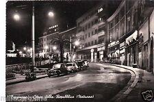 # FROSINONE: CORSO DELLA REPUBBLICA - notturno - 1959 (GILERA & LAMBRETTA)