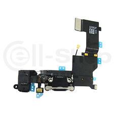 Cable Flex Jack Audio / Microfono / Conector Dock para iPhone 5S Negro