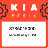873601F000 Kia Garnish assy d pil 873601F000, New Genuine OEM Part