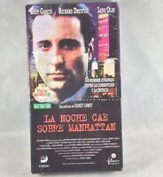 VHS-Cine: LA NOCHE CAE SOBRE MANHATTAN - Andy Garcia, Richard Dreyfuss Lena Olin