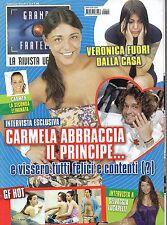 Grande Fratello.Carmela Gualtieri & George Leonard,Linda Collini,Veronica Ciardi