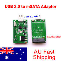 mSATA SSD to USB 3.0 Converter Adapter Mini External Disk Driver For Laptop PC