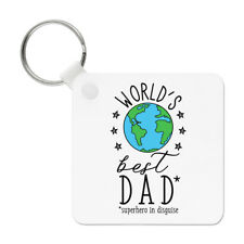 World's Best Dad Keyring Key Chain - Funny Fathers Day