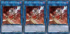 YUGIOH ORICA 3x-SET: Aleister the Invoker of Madness [HANDMADE CUSTOM CARDS]