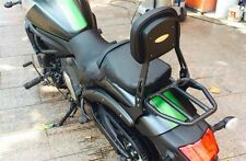 The black detachable passenger back is suitable for the Kawasaki Vulcan S 650 Vu