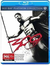 300 - Blu Ray  New, ExRetail Stock, Genuine & unSealed  - Free Postage Aust D39