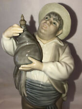 Retired 1989 A Toast By Sancho Lladro� Figurine #01005165