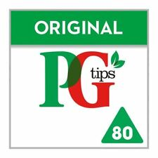 PG tips Pyramid Teabags - 80 per pack (0.51lbs)