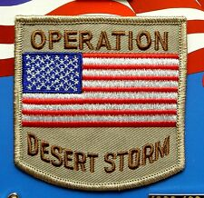 OPERATION DESERT STORM GULF WAR ARMY EMBROIDERED PATCH 3 INCHES