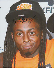 LIL WAYNE Signed 8x10 Photo No Worries YMCMB PROOF