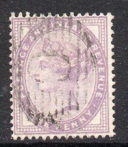 British Levant: 1881 QVI GB 1d used in Constantinople Z131