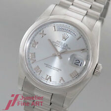 """ROLEX """"OYSTER PERPETUAL DAY-DATE"""" Ref.118206 - Platin - Box + Papiere"""