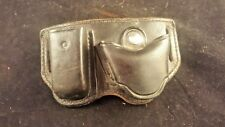 DON HUME LEATHER HOLSTER D425 A MC NO. 100B MAGAZINE HOLDER