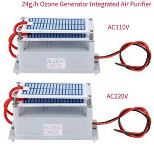 24g/h Ozone Generator Household Air Fresher Odor Eliminating Purifier Ozonizer