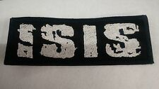 ISIS Patch IRON/SEW RARE American Metal Band Neurosis Godflesh Melvins Mastodon