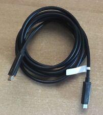 2 m Thunderbolt 3, USB C Kabel, 40 Gbps Gbit/s + 5k DisplayPort + 100 Watt Strom