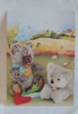 Steiff - Steiff Zotty and Molly Postcard