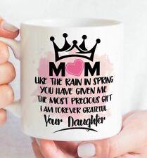 Mom Christmas Coffee Mug  - Mother's Day Mug - gift ideal xmas 2020