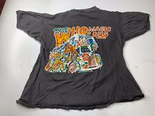 Vintage Original 1970s The Who Magic Bus Tour NYC Concert T Shirt