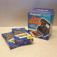 Polaroid One Step Instant Camera NEW NOS 2 After Image Film Packs Exp 8/99
