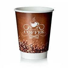 Coffee to go Becher 0,3l Double Wall Pappbecher Premium 50 Stk
