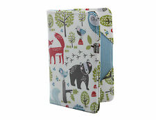 Children / Unisex PVC Forest Friends Passport Cover / Holder by Gisela Graham