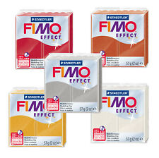 Fimo Effect METALLlC 57g Polymer Clay Full 5 Colour Range Modelling Craft Kit