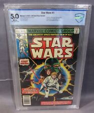STAR WARS #1 (Rare 35 Cent Price Variant) CBCS 5.0 VF Marvel Comics 1977 cgc .35