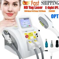 OPT SHR E-light IPL RF Therapy Hair Removal ND YAG Laser Tattoo Removal Machine