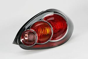 Toyota Aygo 09-14 Black Rear Light Lamp Right Driver Off Side O/S OEM
