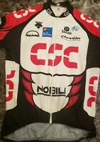 Bike Cycling Jersey Maillot Shirt Cyclism Team Csc Noble DESCENTE Size Medium M