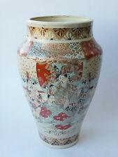 Gr. Satsuma Vase Japan Meiji Keramik ceramic ~1900