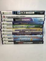 Lot Of 10 Xbox 360 Kinect Games For Family, Kids, Children - Disney, Dance &More
