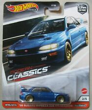 Hot Wheels 2020 Car Culture Modern Classics '98 SUBARU IMPREZA 22B STi RR's