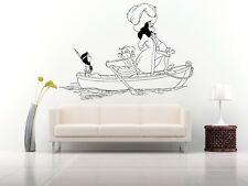 Wall Room Vinyl Sticker Mural Decal Peter Pan Fairy Magic Captain Hook O150