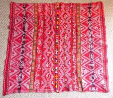 Andean Mountain Textile - Peruvian Aguayo Table Cloth Mastana.