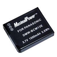Refuelergy Battery for PANASONIC DMW-BCM13E LUMIX DMC-ZS30 DMC-FT5