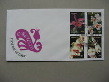 ST. VINCENT,  cover FDC 2003, flower orchids