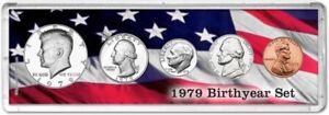 Birth Year Coin Gift Set, 1979