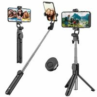 Selfie Stick Extendable Bluetooth Remote Tripod 360° Rotation for Cell Phone