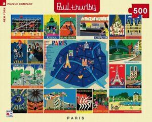 Paris Collage 500 Piece Puzzle 457mm x 610mm (nyp)