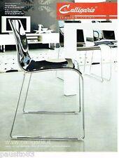 PUBLICITE ADVERTISING 126  2006   Calligaris  chaises meubles  design