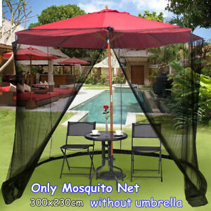 8-10FT Screen Canopy Mesh Mosquito Net Enclosure Insect Outdoor Camping Tent U
