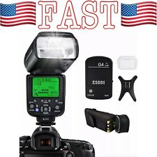 Camera Flash for Nikon, DSLR Camera, I-TTL 1/8000 HSS GN58, Multi, ESDDI Wireles