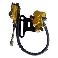 Rear Hydraulic Foot Brake Caliper Cylinder Pad for 125cc 150cc ATV Dirt Pit Bike