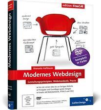 Modernes Webdesign von Manuela Hoffmann (2012, Gebunden)
